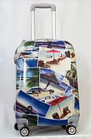 """Пластиковый чемодан 20"""" Путешествие"""