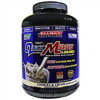 ALLMAX Nutrition, Quick Mass Loaded, Rapid Mass Gain Catalyst, Cookies & Cream, 95 oz (2.7 kg)