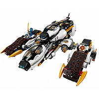 Конструктор Bela Ninja 10529 (аналог Lego Ninjago 70595) Ультра стелс рейдер