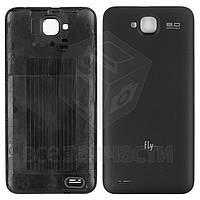 Задняя крышка батареи для мобильного телефона Fly IQ446 Magic, черная, original, #314100486