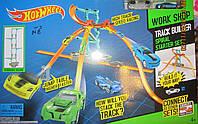 Трек Hot Wheel для двух машинок с тремя горками