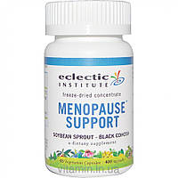 Eclectic Institute, Menopause Support, Soybean Sprout - Black Cohosh, 400 mg, 45 Veggie Caps