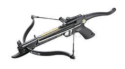 Арбалет Man Kung MK-80A4PL, Рекурсивный, пистолетного типа, пластиковый рукоять цвет черный