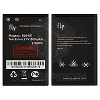 Батарея BL6401 для мобильных телефонов Fly DS103D, EZZY Trendy, original, #H-7201-C266B0-G00/H-7201-C26A08-G00