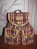 Мега стильный тканевый рюкзак Daniel Ray
