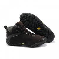 Мужские зимние ботинки Merrell (меррел) коричневые