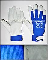 Перчатки кожаные на липучке HLP440