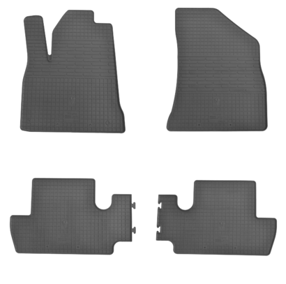 Коврики в салон для Peugeot 3008 09- (комплект - 4 шт) 1016024
