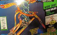 Трек Hot Wheel для двух машинок с тремя горками 123*102*63