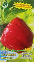 Семена перца сладкого California Wonder, раннеспелый 50 шт, Польша