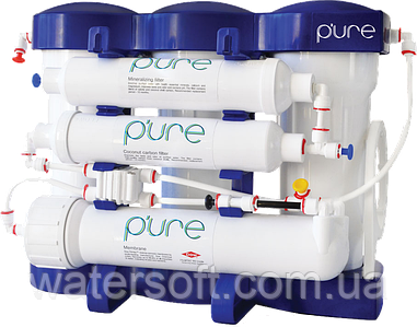 Система обратного осмоса P'ure  с минерализацией