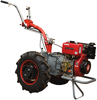 Мотоблок Мотор Сич МБ-6Д с дизельным двигателем Wiema WM178F (ручной запуск) Бесплатная доставка!