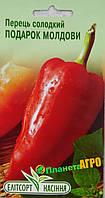 "Семена перца сладкого Подарок Молдовы, среднеспелый 0,2 г, ""Елітсортнасіння"", Украина"