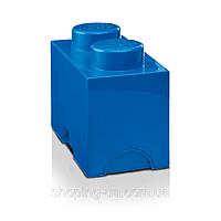Двухточечный синий контейнер для хранения Lego PlastTeam 40021731