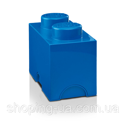 Двухточечный синий контейнер для хранения Lego PlastTeam 40021731, фото 2