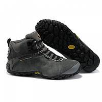 Мужские зимние ботинки Merrell (меррел) серые
