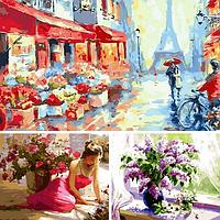 Встречайте новый бренд картин по номерам Марипоса (Mariposa)!