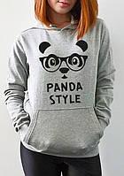 """Женская толстовка """"Panda style"""""""