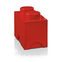 Двухточечный красный контейнер для хранения Lego PlastTeam 40021730, фото 1