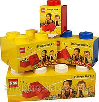 Двухточечный красный контейнер для хранения Lego PlastTeam 40021730, фото 3