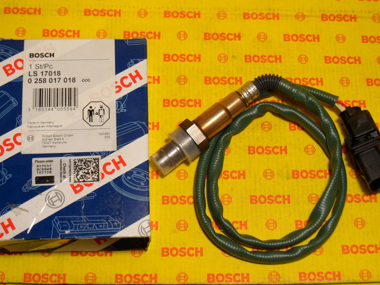 Лямда зонд Bosch 0258017018, 0 258 017 018, A0035427118