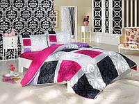 Двуспальное турецкое постельное бельё Sedef v1 Majoli B08