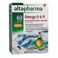 Altapharma Omega-3-6-9 Kapseln - Омега 3-6-9 в капсулах, 60 шт.