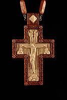 Крест наперсный наградной №7 (красное дерево)