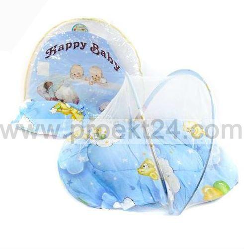 Развивающий коврик с москитной сеткой, подушкой