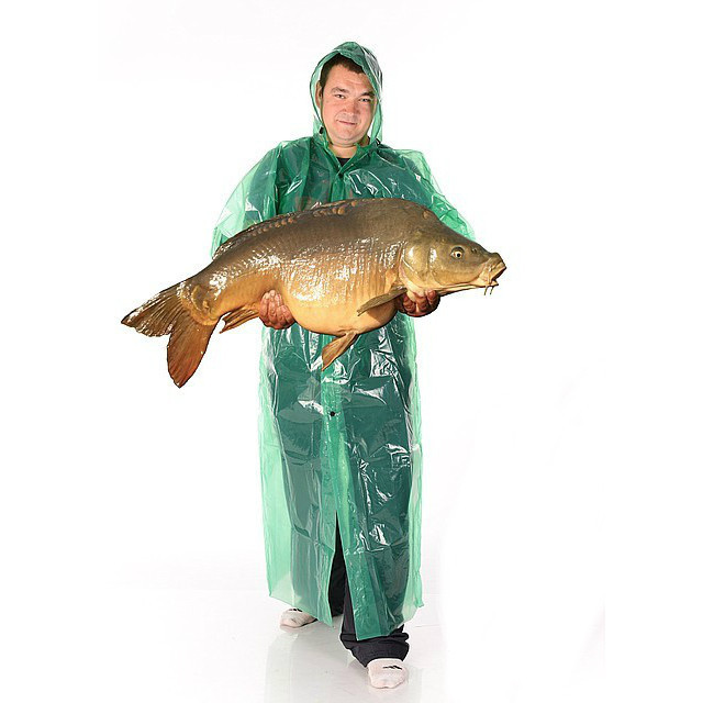 Плащ-дождевик рыбацкий  на кнопке ХХХХL плотный