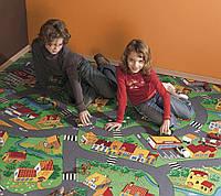 Детский ковролин Деревня