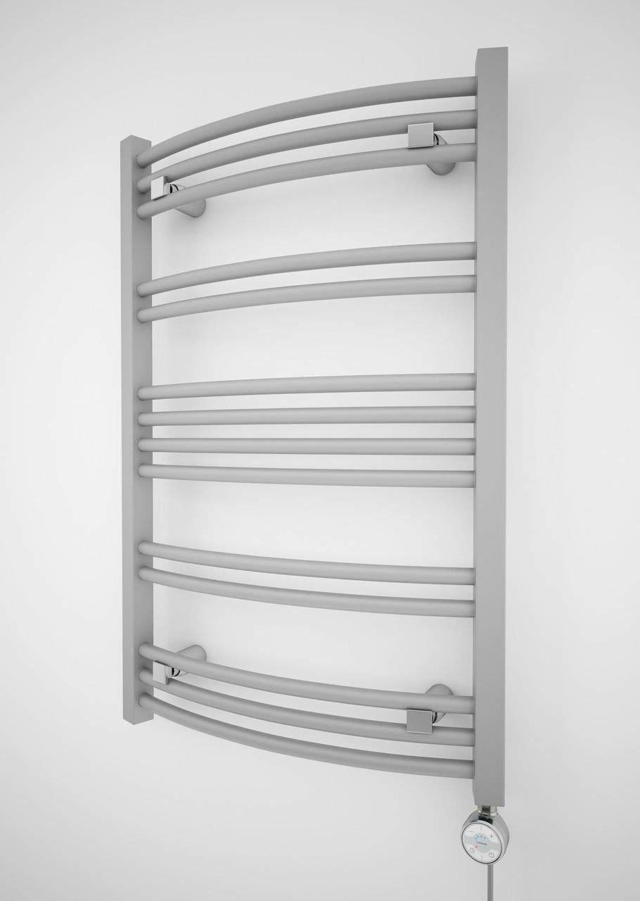 Электрический полотенцесушитель Terma Jade-M 753x500 мм, Silver matt