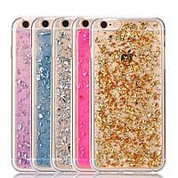 Чехол для iPhone 6 6S силиконовый с блестками