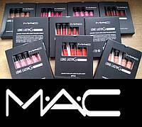 Cуперстойкая матовая помада фирмы MAC производство Канада наличие