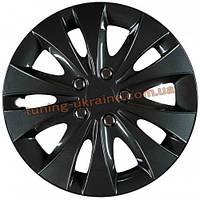 Автомобильные колпаки на колеса JESTIC Storm black R13