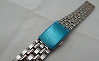 Кольчужний браслет до Casio - нержавіюча сталь, колір срібло, фото 1