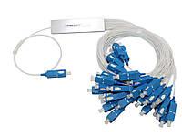 PLC сплиттер 1х32 SC/UPC ValCord