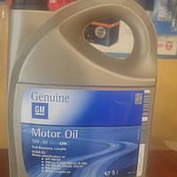 1942003 Синтетическое моторное масло GM Dexos 2 Longlife 5W-30  емкость 5л