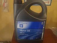 1942046 Полусинтетическое моторное масло GM Genuine 10W40 емкость 5л