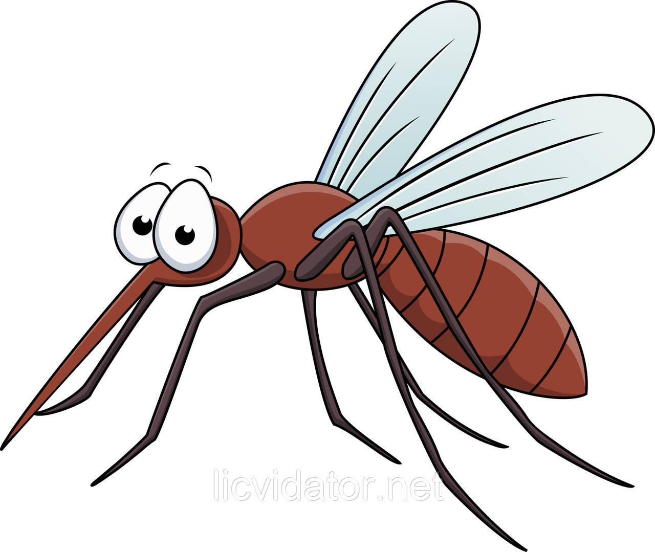 Борьба с комарами на открытых территориях Никополя