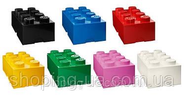Восьми точечный белый контейнер для хранения Lego PlastTeam 40041735, фото 2