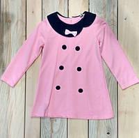 Платье туника на девочку 4-6 лет