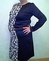 Батальное женское платье Dress Code 6955