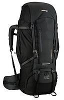 Черный удобный рюкзак из полиэстера 70+10 л. Vango Sherpa 70+10 Shadow Black 923198