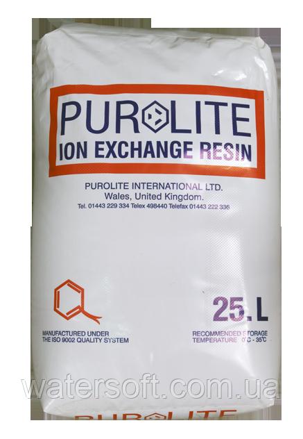 PUROLITE C-100E фільтруючий матеріал для пом'якшення води. Катіоніт в фільтр пом'якшувач