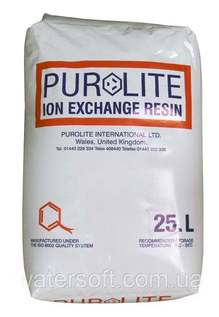 PUROLITE C-100E фильтрующий материал для умягчения воды. Катионит в фильтр умягчитель