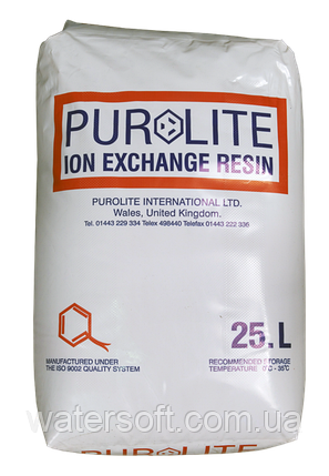 PUROLITE C-100E фільтруючий матеріал для пом'якшення води. Катіоніт в фільтр пом'якшувач, фото 2