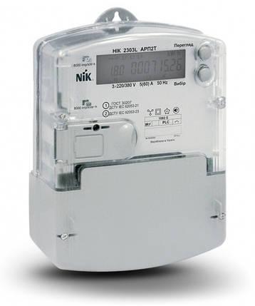 Электросчетчик  NIK 2303 ART.1000.M.11 аналог (НІК 2303L АРК1 1000 МE 3х220/380В 5(10)А), фото 2