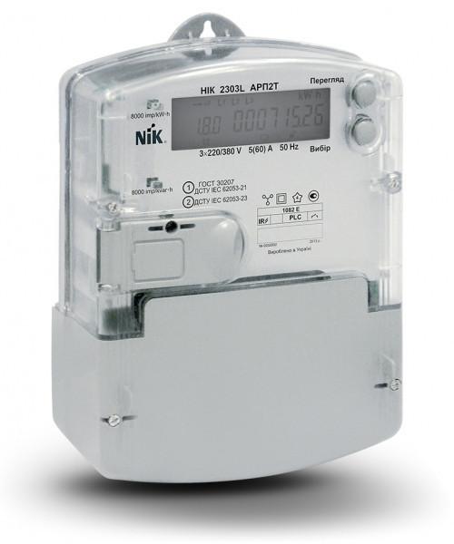 Электросчетчик NIK 2303 ATT.1000.M.11 3х220/380В 5(10)А трехфазный, старое название  НІК 2303L АК1T М