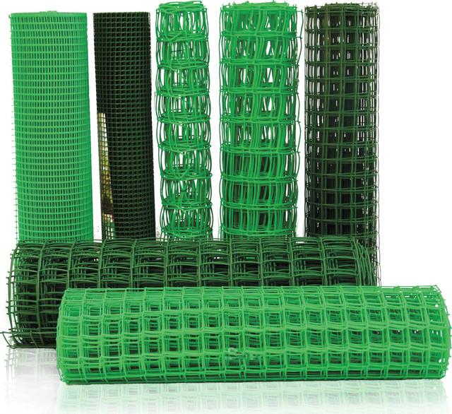 Пластиковые сетки для сада и строительства